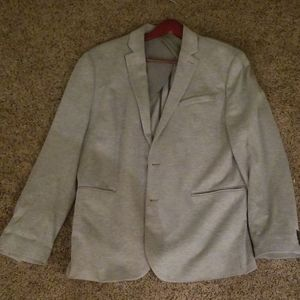 Mens knit blazer
